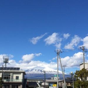 交流プラザからの富士山