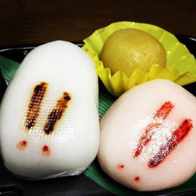 【見て食べてブロック解除】うさぎとお月様こしあん•白あん•芋ようかんセブンでヒトメボレして買いました#お月様  #うさぎとお月様 #食べるだけでブロック解除